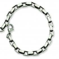 Link Bracelet in Stainless Steel