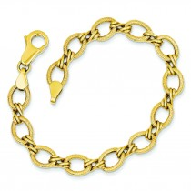 Fancy Bracelet in 14k Yellow Gold