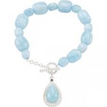 Bead Strand Bracelet in Sterling Silver