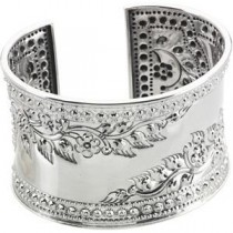 Fashion Cuff Bracelet in Sterling Silver