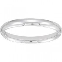 Hinged Bangle Bracelet in Sterling Silver
