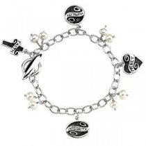 Lifetime Skills Bracelet Pearl in Sterling Silver
