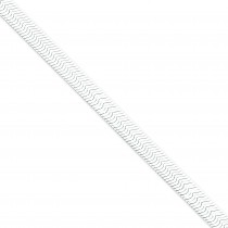 Sterling Silver 7 inch 8.00 mm Magic Herringbone Chain Bracelet