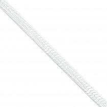 Sterling Silver 7 inch 8.00 mm Magic Herringbone Chain Bracelet
