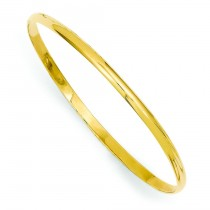 Slip-on Baby Bangle Bracelet in 14k Yellow Gold
