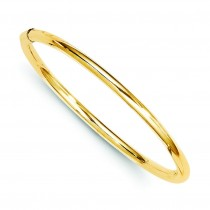 Slip-on Baby Bangle in 14k Yellow Gold