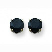 Palladiumblack CZ Earrings in Non Metal