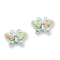 Butterfly Post Earrings in Sterling Silver