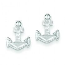 Anchor Mini Earrings in Sterling Silver