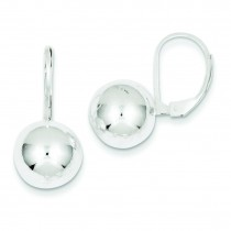 Dangle Ball Earrings in Sterling Silver