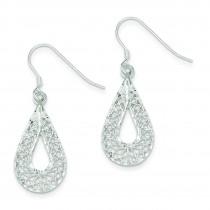 Filigree Earrings in Sterling Silver