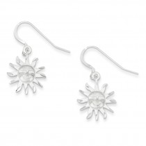 Smiling Sunshine Earrings in Sterling Silver