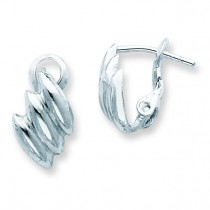 Clip back Earrings in Sterling Silver