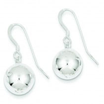 Ball Earrings in Sterling Silver