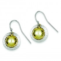 Vermeil Earrings in Sterling Silver