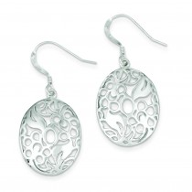 Fancy Dangle Earrings in Sterling Silver