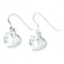 Fish Earrings in Sterling Silver