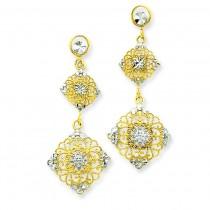 Diamond Cut Filigree in 14k Yellow Gold