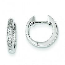 Diamond Earrings in 14k White Gold (0.13 Ct. tw.) (0.13 Ct. tw.)