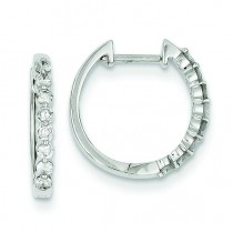 Diamond Earrings in 14k White Gold (0.36 Ct. tw.) (0.36 Ct. tw.)