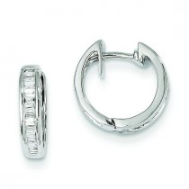 Diamond Earrings in 14k White Gold (0.25 Ct. tw.) (0.25 Ct. tw.)