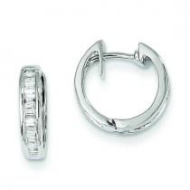 Diamond Earrings in 14k White Gold (0.25 Ct. tw.) (0.25 Ct. tw.)