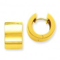 Hinged Earrings in 14k Yellow Gold