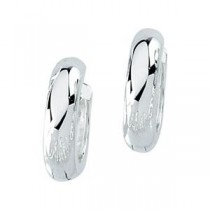 Hinged Earring in Sterling Silver