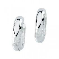 Hinged Earring in Sterling Silver