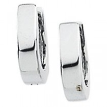 Hinged Earring in 14k White Gold
