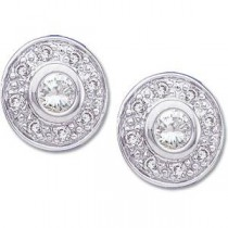 Diamond Earring in 14k White Gold (0.25 Ct. tw.)
