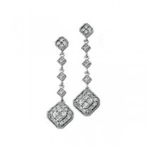 Diamond Earrings in 14k White Gold (0.33 Ct. tw.) (0.33 Ct. tw.)