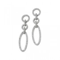 Diamond Earrings in 14k White Gold (0.625 Ct. tw.) (0.625 Ct. tw.)