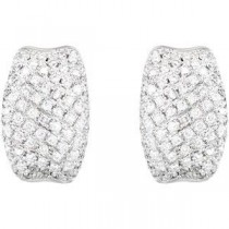 Diamond Earrings in 14k White Gold (0.9 Ct. tw.) (0.9 Ct. tw.)