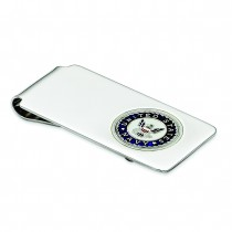 U.S Navy Money Clip in Sterling Silver