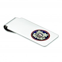 U.S Coast Guard Money Clip in Sterling Silver