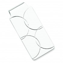 Money Clip in Sterling Silver