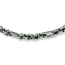 Fancy Link Necklace in Stainless Steel