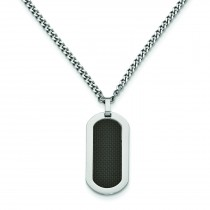 BlackNecklace in Titanium