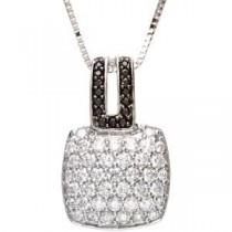 Black Diamond Necklace (1.25 Ct. tw.) (1.25 Ct. tw.)