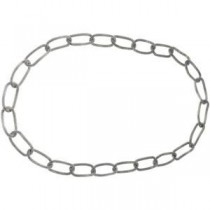 Amalfitrade Stainless Steel Link 36 Necklace in Stainless Steel