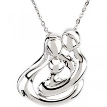 Embraced by the Hearttrade (Family) Necklace