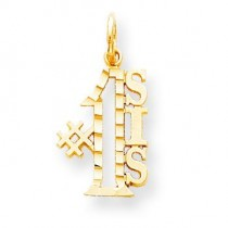 Sis Charm in 10k Yellow Gold