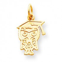 Graduation Charm in 10k Yellow Gold