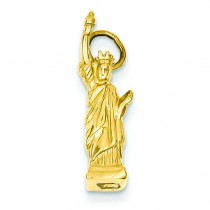 Statue Of Liberty Charm in 14k Yellow Gold