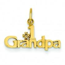 Grandpa Charm in 14k Yellow Gold