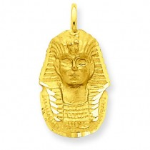 King Tut Charm in 14k Yellow Gold