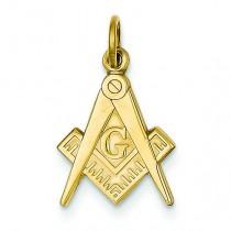 Masonic Charm in 14k Yellow Gold