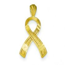 Awareness Pendant in 14k Yellow Gold