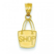 Shop Pendant in 14k Yellow Gold